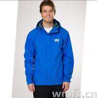 Wholesale Helly Hansen Men - Helly Hansen brand outdoor hiking jacket men waterproof windproof light windbreaker sports chaqueta impermeable corta viento hombre