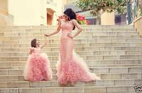 Wholesale Beautiful Chic - Jewel Sleeves Ball Gown Ruffle Floor Length Beautiful Chic Wedding Dresses Flower gGirl Dresses Cheap