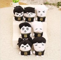 Wholesale bts member pc plush toy exo doll