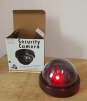 <b>Wireless Home Security</b> Fake Cámara Simulado de vigilancia de vídeo de interior / exterior Vigilancia Dummy Ir Led Fake Cámara domo con caja 66 NUEVO
