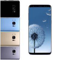 Wholesale Cdma Rom - S8 plus 6.2inch Full Screen goophone S8 Clone Phone MTK6592 Octa core 4G RAM 64G ROM Fingerprint Shown 4G LTE Android 7.0 Smartphone