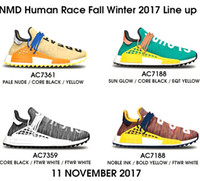 """Wholesale Toe Shoes China - Shop Brand new Pharrell NMD """"Human Race"""" Shoes,Source cheap Real Boost Trail NMDs With Box for Mens Womens wholesale direct from China"""