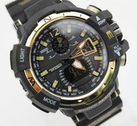 Wholesale Display Shells - New GA1100 relogio men's sports watches, LED chronograph wristwatch, military watch, digital watch, good gift for men & boy, dropship
