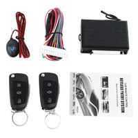 Wholesale Hyundai Keyless - 12V Car Alarm System Vehicle Keyless Entry System with Remote Control & Door Lock Automatically for Hyundai CAL_10A