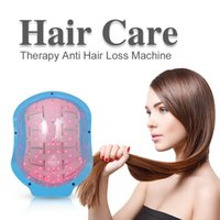 Wholesale laser hair loss - Laser Hair Loss Regrowth Growth Head Massage SPA Infrared Treatment Cap Helmet Therapy Alopecia 80 Diodes Beauty Instrument