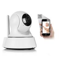 Wholesale Wireless Ip Kamera - Home HD 720P IP Camera Wi-Fi CCTV Cam Security Network Kamera WiFi Wireless IP kamery Baby Monitor Audio QR CODE Scan Connect