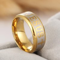 Wholesale Gold Plated Great Wall - Fashion Accessories Simple Two Colors Golden And Sliver Great Wall Men Male Ring Stainless Steel Wedding Rings for Men Jewelry RG044
