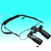 Wholesale Magnifying Glass Microscope - 4X operating surgical loupes medical loupe magnifying glass GM4X Glasses Magnifier Binocular Microscope tools toys 2016 new