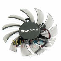 Wholesale Free Graphic Lines - Gigabyte FY08010H12LPA graphics card fan DC12V 0.30A 2 line cooling fan Free Shipping