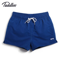 Wholesale Surf Board S - Wholesale-Men's Board Shorts Swim Shorts Swim Boxer Trunks Men Swimming Swimwear Swimsuits Surf Shorts Running Sports Outdoor Casual Wear