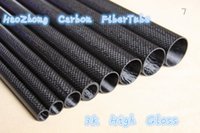 Wholesale 6MM OD x MM MM ID Carbon Fiber Tube k MM Long with full carbon Roll Wrapped Quadcopter Hexacopter Model DIY
