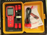 leitor de código do pino do carro venda por atacado-XTOOL Original X100 Pro X-100 cloner transponder Programador Chave Para Carros ECU Imobilizador Pin Code Reader X 100 Multi Marca carros