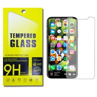 Wholesale Zte Grand X Screen - For Iphone X 8 7 6 ZTE Zmax Pro Galaxy S7 Grand Prime on5 LG Stylo 3 Tempered Glass LG K7 K10 LG LS770 Iphone 6s Plus Screen Protector