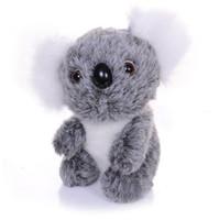 tsum peluş toptan satış-Sevimli koala peluş oyuncaklar bebek 3 boyutları dolması hayvanlar koala ayı güzel çocuk Peluş Oyuncaklar Çocuklar Doğum Günü Xmas Hediye
