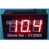 All'ingrosso-1pc DC 0V a 9.99V rosso LED Digital voltmetri 0-9.99V o 0V a 10V Mini Digital Voltaga Panel Meter DC Power Monitor # 00018