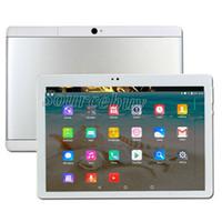 phablet 1gb rom 16gb ram großhandel-Neuester 10-Zoll-Tablet-PC-Telefonanruf Phablet Android 4.4 IPS 1280x800 HD Auflösung-Viererkabelkern Doppel-SIM 1GB RAM 16GB ROM