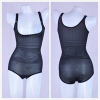 Wholesale Teddy Underwear Body - Size XS-XXL Sexy Female thin body shapers underwear women bodysuits Teddies Seamless Siamese Body sculpting Slimming underwear
