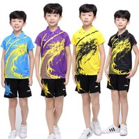 "Wholesale Couples Wear - Children Wear Tee Shirt Sweetie""gress Exotic Chinese Dragon Style,Table Tennis Jersey couple clothes matching short is available free ship"