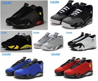 Wholesale Men Sneakers Factory Outlet - Free shippin original quality A14 Men's basketball shoes Factory outlet classics JXIV sports boot Retro air sneaker for men size US8-13