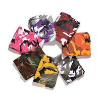 Wholesale Women Cargo Camouflage - Men Women Camo Cargo Pants Fashion Baggy Tactical Trouser 2017 Hip Hop Camouflage Military Multi Pockets Capris Guys Male Joggers Streetwear