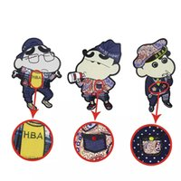 3Pcs Crayon Shinchan Cartoon Patches Japan Patch Pullover T-Shirt DIY Kleidung Dekorative Patches genäht Stickerei Crayon Shinchan Strip