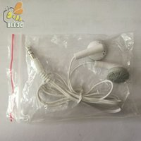 Wholesale mp3 player for cheap for sale - Company Gift Mini Portable Earphone MP3 Player Earphone Cheap for Music Player Tablet Mobile Phone With OPP Bag