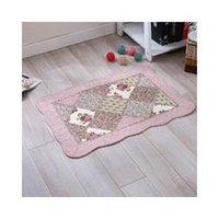 Wholesale Handmade Rugs Carpets - 50x80cm cotton fabric living room carpet handmade bedroom floor rugs baby playmat