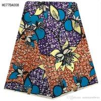 Wholesale Cheap Wax Print Fabric - wholesale and retail colorful wax print fabric wax hollandais fabrics 100% Cotton african ankara fabric cheap fabrics HC77DA008