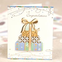 Wholesale christmas cards for sale - Group buy Christmas Party Assorted Happy Birthday Greeting Cards with Envelopes Christmas Greeting Card
