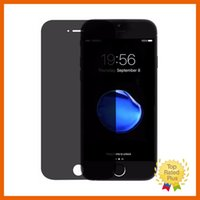 Wholesale Spying Mirror - Privacy Anti Spy Tempered Glass Screen Protector Film for iPhone 7 Plus 6 6s with Retail Box High Quality