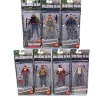 Wholesale Walking Dead Action Figures - AMC TV Series The Walking Dead Abraham Ford Bungee Walker Rick Grimes The Governor PVC Action Figure Collectible Toy