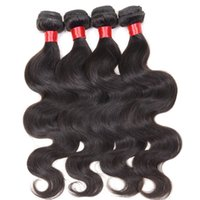 Wholesale Cheap Brizilian Hair - Annaberry Body Wave Cheap Brazilian hair 4 bundles Brazilian natural wave virgin hair filipino malaysian peruvian brizilian body wavy hair