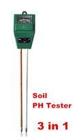 Wholesale Electrical Light Tester - New Arrival 3 in 1 PH Tester Soil Detector Water Moisture Light Test Analyzer Meter Sensor for Garden Plant Flower