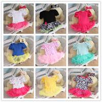 Wholesale Toddler Wholesale Chevron Dresses - 20 styles Newborn Chevron Tutu Romper Dress & Headbands Toddler Zig zag Ruffles Tutu Rompers Tutu Jumpsuits Baby Romper Dress K7128
