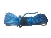 Wholesale 9mm Winch - Wholesale-9mm x 30m plasma winch rope,synthetic rope for 4wd wheels,motor part accessary,spare parts