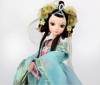 Wholesale Kurhn Doll Chinese - 29CM Kurhn Dolls For Girl Chinese Traditional Doll Toys For Children's Birthday Gift Kid's Toys #9050
