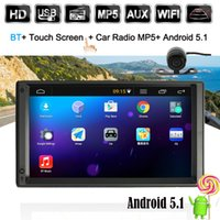 "Wholesale United Stereo - 7"" Universal 2 Din HD Touch Screen Car Stereo Radio Player GPS Navigation WIFI AM FM Android 5.1 BT"