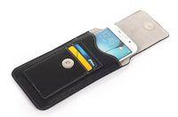 telefones celulares zte max venda por atacado-Vertical Rotary Card Homem Clipe de Cinto de Couro Artificial Celular Caso Bolsa Para ZTE nubia Z11 mini S, Lâmina V7 Max, Xiaomi mi Nota 2
