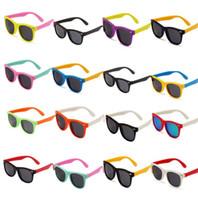 Wholesale baby sunglasses for sale - Kids Sunglasses Polarized Sunglasses Child Baby Safety Coating Sun Glasses Eyewear Shades Infant oculos kids Outdoor Sunglasses KKA3338