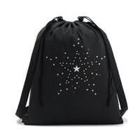 Dropshipping Black Nylon Drawstring Bag UK | Free UK Delivery on ...