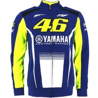 Wholesale Factory Breathable Jacket - 2017 Valentino Rossi VR46 M1 For Yamaha Factory Racing Team Moto GP Adult Hoodie Sports Sweatshirt Jackets Blue
