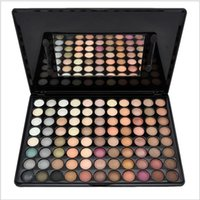 Wholesale Eyeshadow Palette 88 New Warm - New Fashion Warm Pro 88 Color Eyeshadow Palette Beauty Makeup Set Makeup Eye Shadow Free Shipping