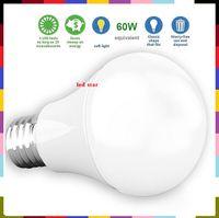 Wholesale E27 Screw Bulb - [60W Equivalent] 9W 800LM LED A19 - E27 Led Bulb Light Warm Cold White CRI90+ 800 Lumens Medium Screw Base AC 110-240V UL Listed