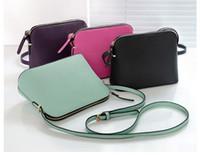 bolsos de hombro de mensajero para las mujeres al por mayor-Diseñador de la marca Mujeres Crossbody Shoulder Bag Crossbody Shell Bags Monederos Messenger Bag 4 colores