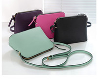 Wholesale Woman Fashion Cross Bags - Brand Designer Women Cross body Shoulder Bag Crossbody Shell Bags Purses Fashion Messenger Bag Handbags 4 colors