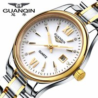Wholesale Guanqin Watch Ladies - Watches women luxury brand GUANQIN quartz watch lady fashion dress relogio feminino Luminous waterproof relojes mujer