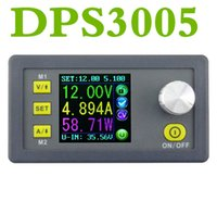 Wholesale electrical power supply - DC DPS3005 Constant Voltage current Step-down Programmable control Power Supply module buck Voltage converter color LCD voltmeter Ammeter