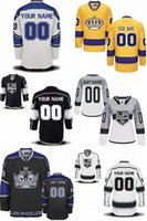 Wholesale Custom Embroidery Los Angeles - Factory Outlet Hot Sale Customized Los Angeles Kings Custom Embroidery Logo Top Quality Ice Hockey Jerseys Please Note Your Name And Number