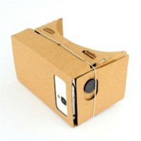 Hight Quality Ultra Clear DIY Google Cardboard VR Virtual Reality 5 '' Mobile Phone 3D visuais para 3D Movies Games