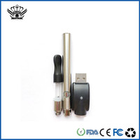 Wholesale Electronic Cig Refills - free shipping hot selling original bud dex rechargeable pen style smoking vaporizer Refill Atomizer Cartridges 0.6ml Electronic Cig Smoking